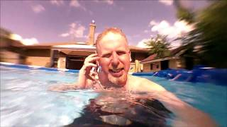 In the Pool with the Kodak PlaySport ZX3