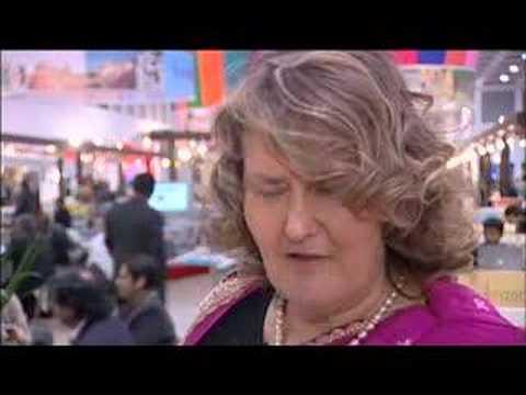 Karin Klug, Ayurveda Expert, The Raj Palace @ ITB Berlin 2008