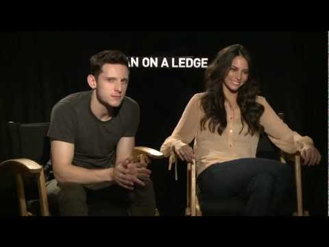 Man On A Ledge: Jamie Bell and Genesis Rodriguez Sit Down Interview