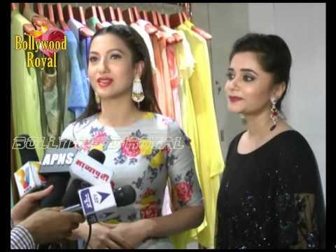 Lisa Haydon,Gauhar Khan & TV Celebs at Fatma Shaikh's Summer Preview Collection  1