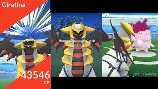 New Gen 4 Legendary Giratina released in Pokemon Go!