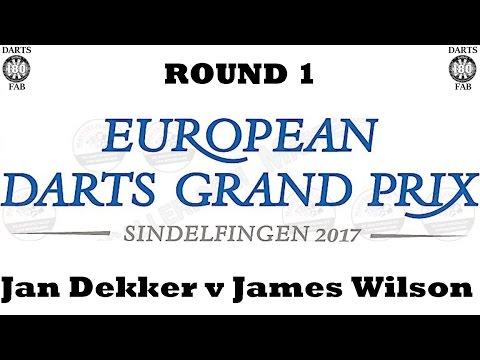 HappyBet European Darts Grand Prix - Round 1 [9of16]: Jan Dekker v James Wilson