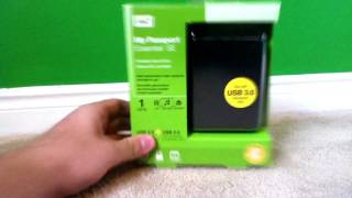 Western Digital Portable Hard Drive Unboxing