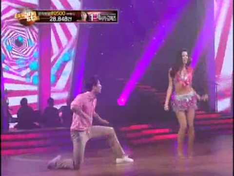 Dancing with the stars ep08-Kim Gyu Ri 댄싱위드더스타-김규리