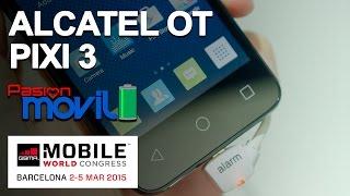 Alcatel One Touch Pixi 3(tres) conócelo en el Mobile World Congress 2015