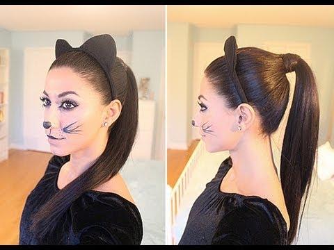 Kitty Cat Halloween Hair
