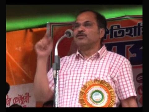 Adhir Chowdhury compares Mamata with donkey for initiating late action against JU VC