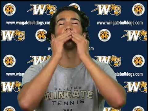 Meet the Bulldogs - 2012 Wingate University Men's Tennis