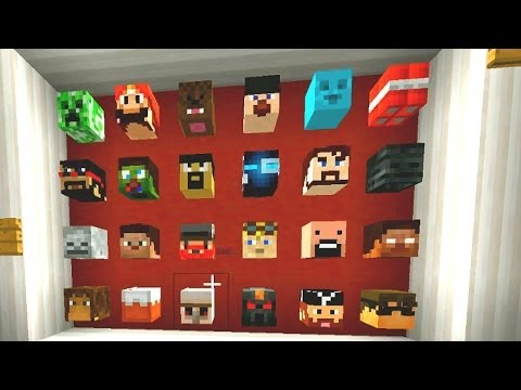 Minecraft Mini-Game: GUESS WHO #1 w/ Vikkstar & NoahCraft (Minecraft 1.7.4)