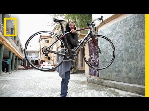 For Afghanistan's Women, Empowerment Comes on Two Wheels