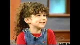 Hallie Eisenberg  interview 1998. Age 6