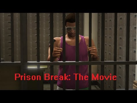 Gta 5 Online: Prison Break: The Movie video