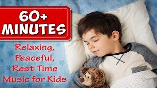 Over 60 Minutes of Rest Time Music for Kids |  Peaceful Songs to Go to Sleep To | Jack Hartmann
