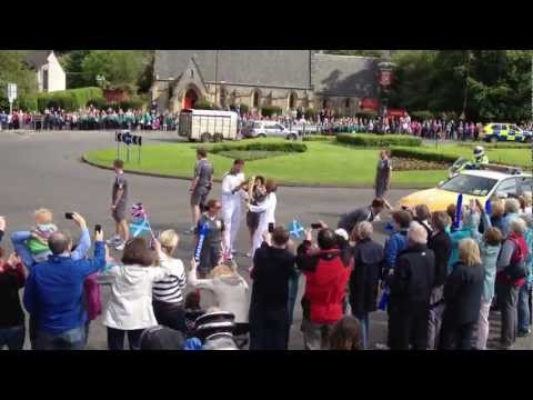 Olympic Torch :: Dunblane