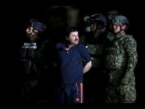 Mexico presents recaptured drug lord 'El Chapo'