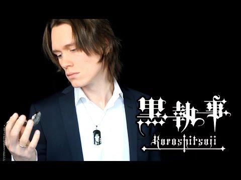 Black Butler (opening) - Monochrome No Kiss (cover) Kuroshitsuji 黒執事 Op video