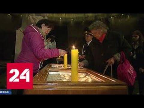 На Поклонной горе продолжается акция Свеча памяти
