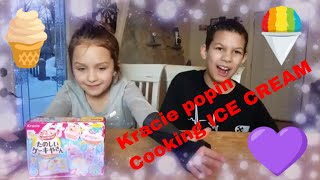 Kracie Popin Cookin Ice Cream ! Kids Reviews _ Food trys