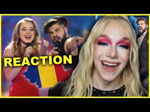 ROMANIA - Ilinca ft. Alex Florea - Yodel It!   Eurovision 2017 Reaction