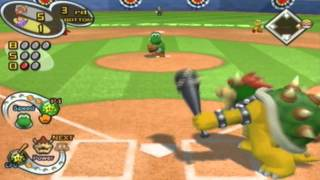 Mario Superstar Baseball Gameplay: Donkey Kong Vs. Wario