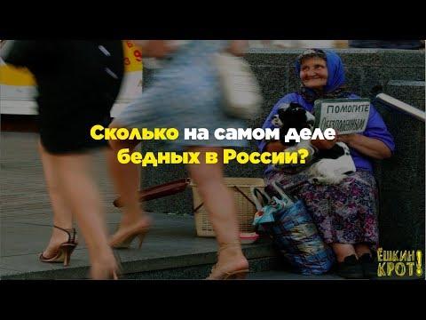 Сколько на самом деле бедных в России?