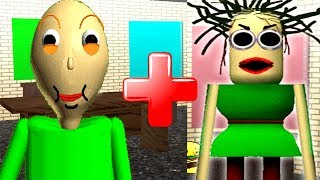 BALDINA X BALDI!? Baldi's Basics in Education and Learning