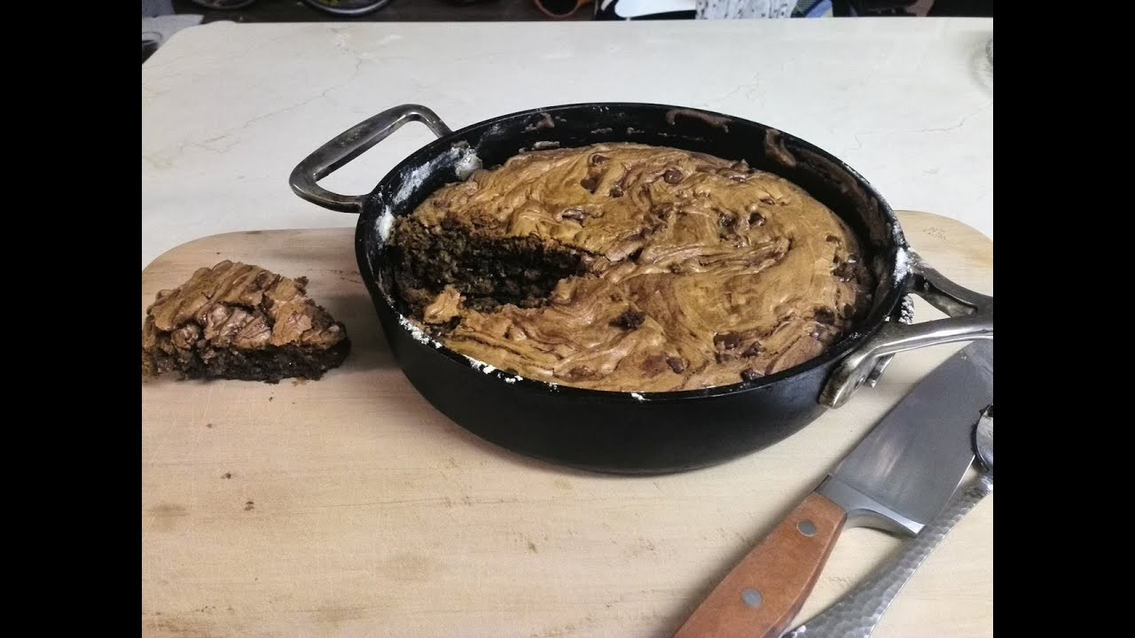 One-Pan Chocolate Chip Skillet Cookie - YouTube