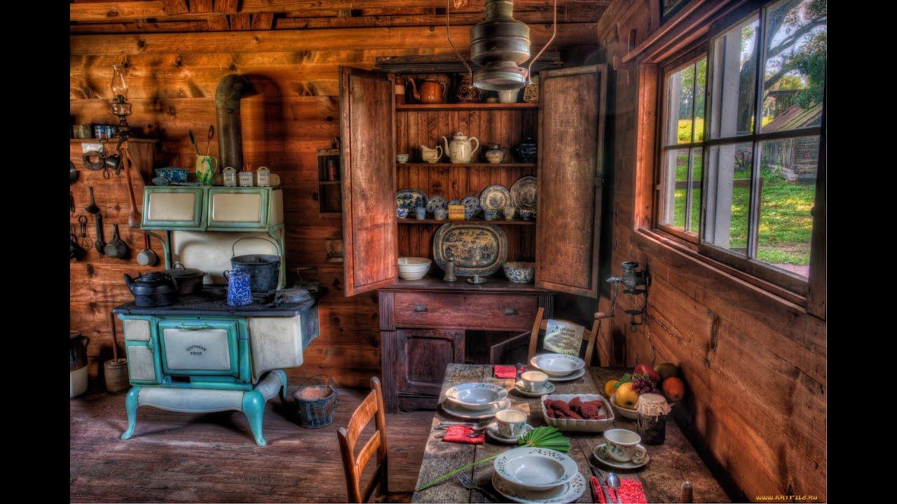 Дача в деревенском стиле фото