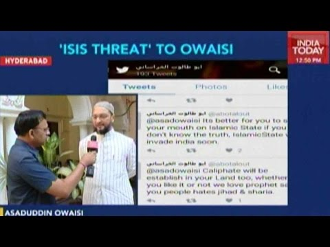 Exclusive: ISIS Threat To Owaisi