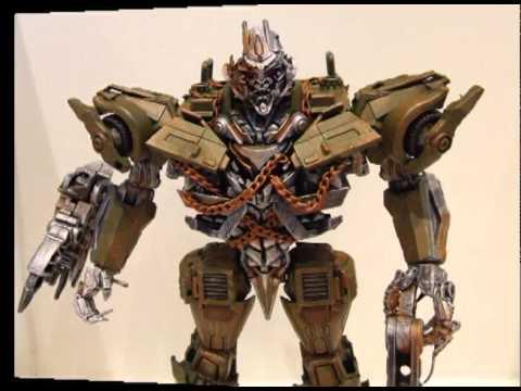 Transformers Dotm Leader Class Megatron Leader Class Megatron.avi