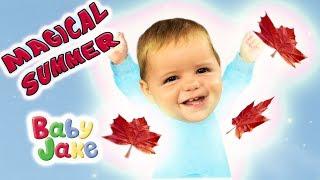Baby Jake - Magical Summer | Full Episodes | Yacki Yacki Yoggi | Cartoons for Kids