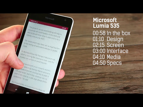 Microsoft Lumia 535 hands-on & unboxing