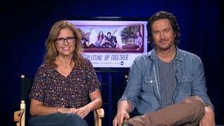 Jenna Fischer, Oliver Hudson talk season 2 of 'Splitting Up Together'
