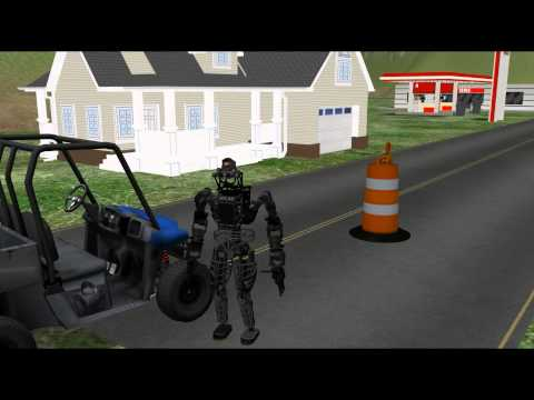 Overview of DARPA VRC and OSRF Simulator