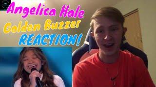 Angelica Hale Golden Buzzer - America's Got Talent: The Champions REACTION!