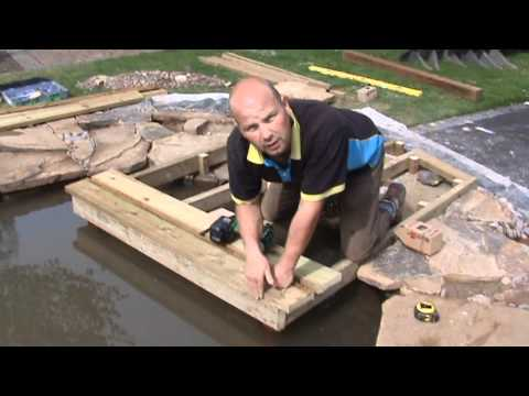 How to Build a Wildlife Pond: Part 5 - Installing a Dipping Platform and Hibernaculum