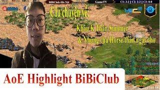AoE Highlight BiBiClub || Câu chuyện về khẩu K thần Summer và những chú Horse thần ngây thơ