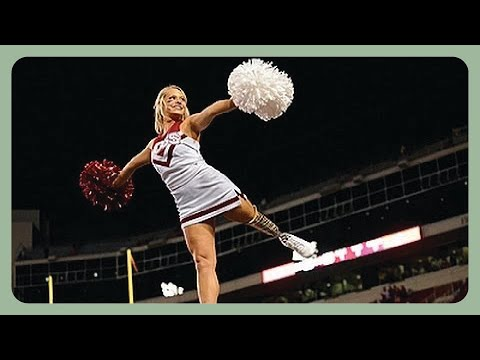 Amputee Cheerleader Takes Self-Acceptance to New Heights