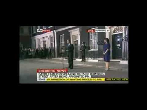 David Cameron - New Prime Minister 11/5/10