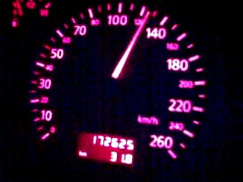 Audi A4 B5 2.4l V6 165ps 0-170km/h in 22 s