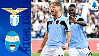 Lazio 5-1 Spal | Immobile & Caicedo Shine With a Brace Each! | Serie A TIM