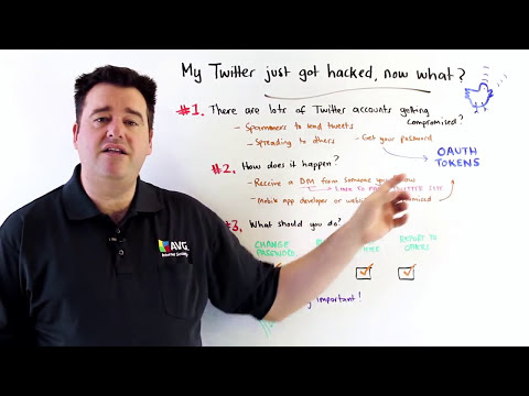 AVG's Michael McKinnon Discusses What To Do If Your Twitter Account Is Hacked