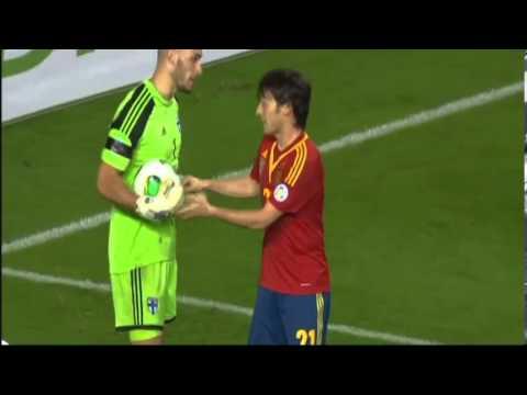 Pelea Tangana entre España Finlandia eliminatorias mundial brasil 2014 22/03/2013