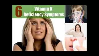 6 Major Vitamin K Deficiency Symptoms