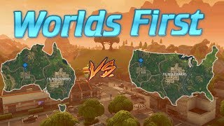 WORLDS FIRST Solo vs Squad Intercontinental Victory! (Fortnite)