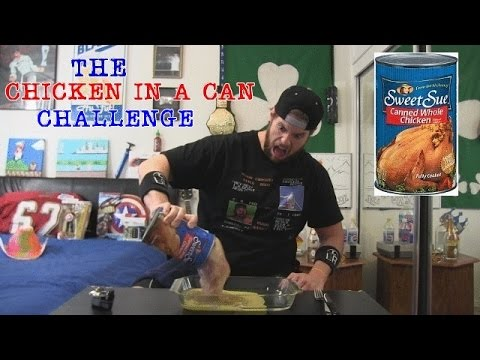 Sweet Sue's Whole Chicken In A Can Challenge (L.A. BEAST'S 200th Video)