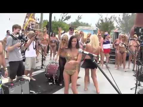 ABC Bikini Contest KRCTM Cruise 2012 At Half Moon Cay Bahamas