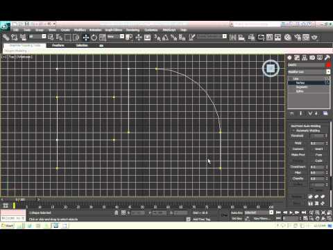 3Ds Max Tutorial - Plan with Line - Urdu/Hindi