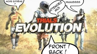 Trials Evolution | Du délire avec Squeezie Codjordan23 et DarkFuneral97two