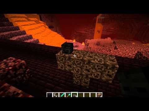 How To Make A Wither Boss In Minecraft Plus Ingredients - PC Xbox PS3 PS4 Wii U TU 19 - Commentary